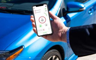 app smartphone car key