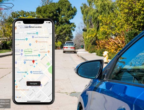 How MoboKey tracks car without GPS