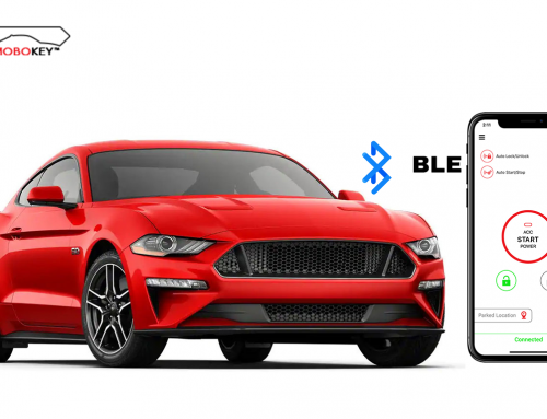 World's first bluetooth based Car Sharing Platform