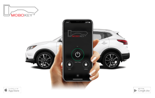 unlock your car with smartphone