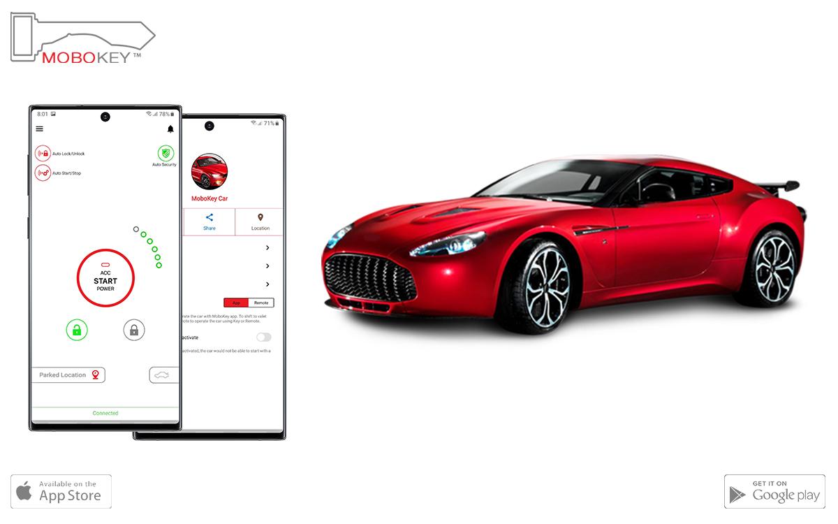 Bluetooth car-sharing remote starter