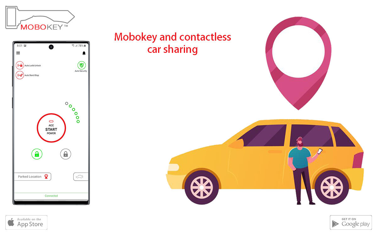 contactless carsharing