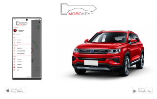 remote0 car access phone app